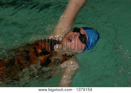 Swimming- Backstroke