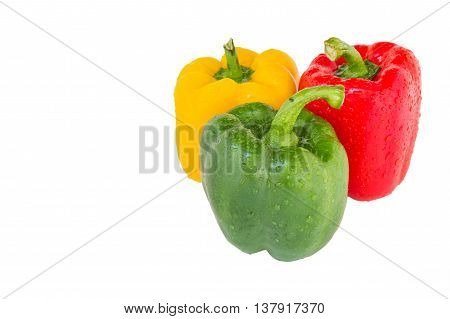 Bell Pepper Three Colors