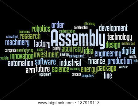 Assembly, Word Cloud Concept 5