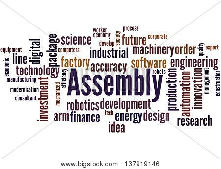 Assembly, Word Cloud Concept 7