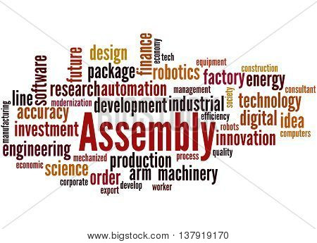 Assembly, Word Cloud Concept 8