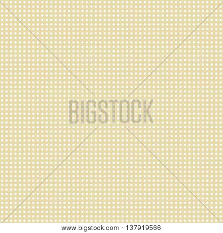Polka Dot Pattern in pastel tones. Vector.