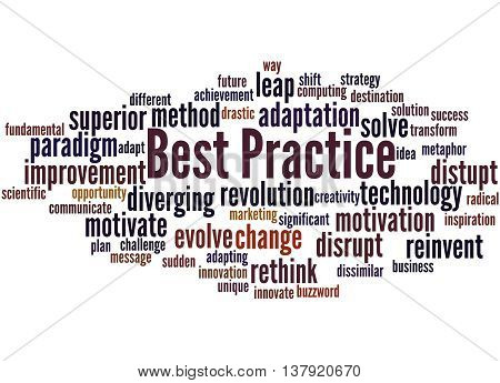 Best Practice, Word Cloud Concept 8