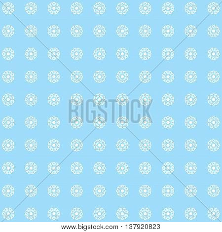 Floral blue pattern. Fine texture with flowers