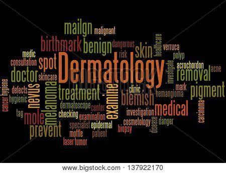 Dermatology, Word Cloud Concept 2