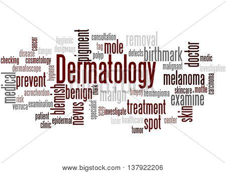 Dermatology, Word Cloud Concept 3