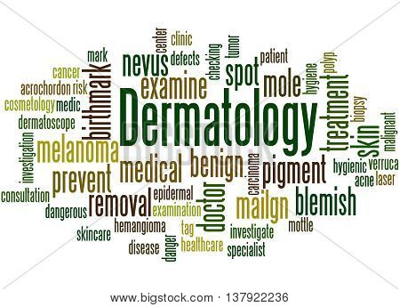 Dermatology, Word Cloud Concept 4