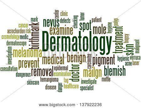 Dermatology, Word Cloud Concept 4