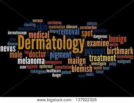 Dermatology, Word Cloud Concept 6