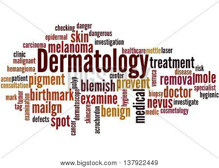 Dermatology, Word Cloud Concept 8