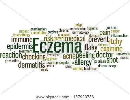 Eczema, Word Cloud Concept 4