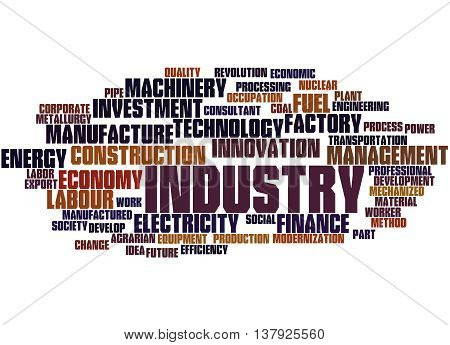 Industry, Word Cloud Concept 5
