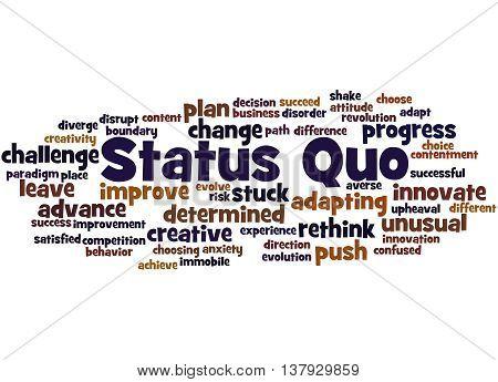 Status Quo, Word Cloud Concept 6