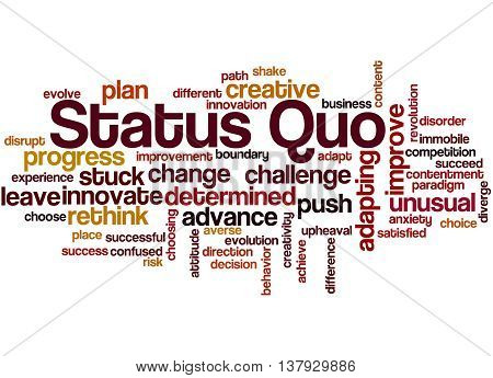 Status Quo, Word Cloud Concept 7