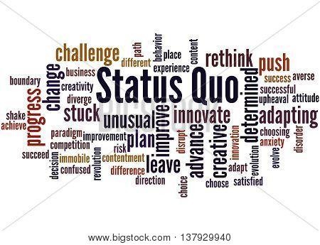 Status Quo, Word Cloud Concept 9