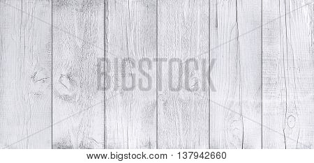 White wooden planks. Oak texture.