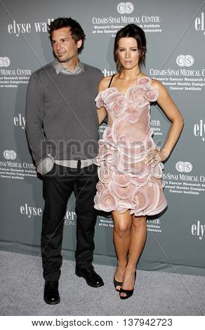 Kate Beckinsale and Len Wiseman at the 4th Annual Pink Party held at the Hanger 8 in Santa Monica, USA on September 13, 2008.