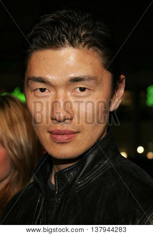 Rick Yune at the Los Angeles premiere of '300' held at the Grauman's Chinese in Hollywood, USA on March 5, 2007.
