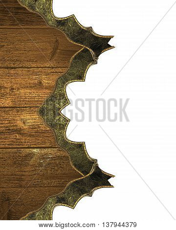 Grunge Wood Elements. Template For Design And For Ad Brochure Or Announcement Invitation