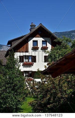 Around the Hallstatt Village view, Salzkammergut, Austria