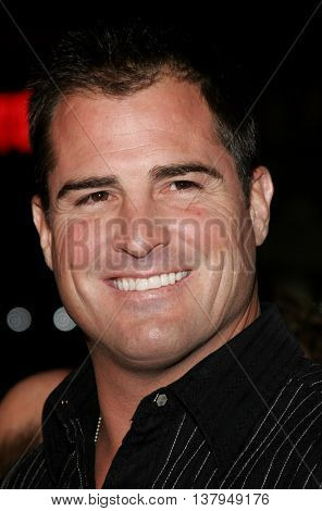 George Eads at the Los Angeles premiere of '300' held at the Grauman's Chinese in Hollywood, USA on March 5, 2007.