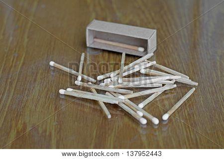 Matchstick And Matchbox