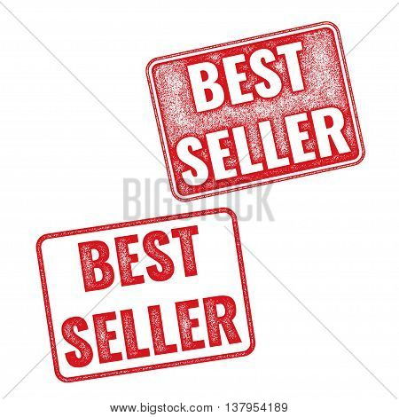 Realistic Textured Vector Stamp Bestseller