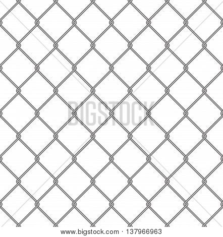 Steel mesh seamless texture of grid fence