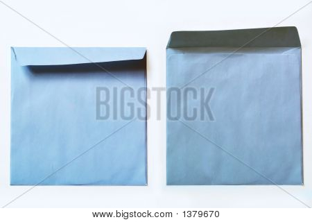 Two Blue Covers