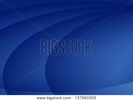 Vector abstract dark blue background with elements of ellipse