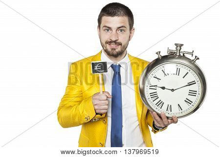 Businessman Says That Time Is Money