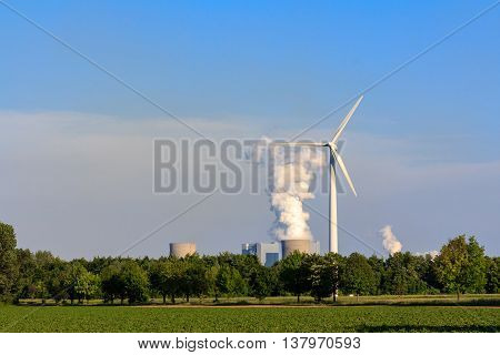 Electricity By Wind Power Versus Coal Power