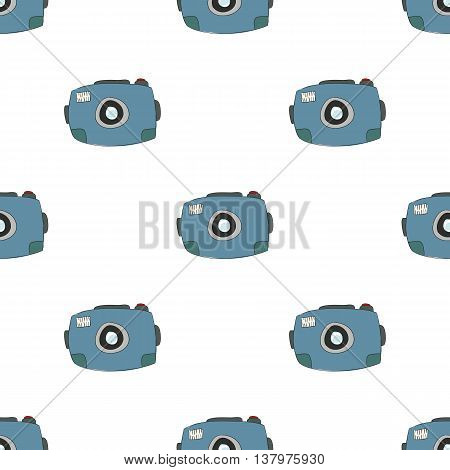 the camera is hand-drawing cute cartoon pattern