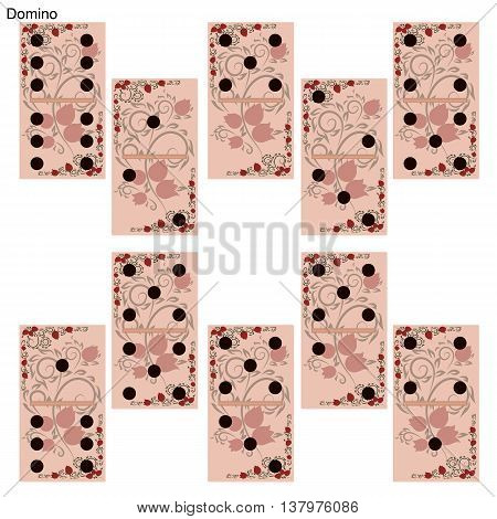 Chips to play Dominoes. It can be used for games or online games mobile applications.