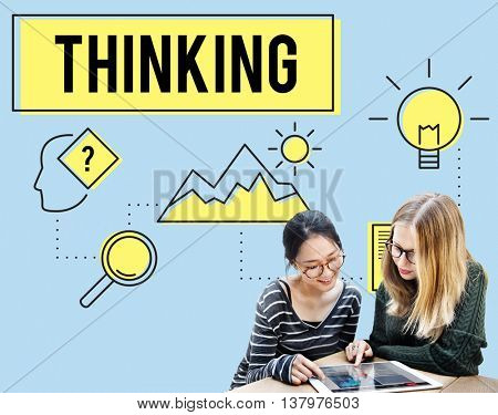 Brainstorming  Thinking Think Analysis Ideas Concept