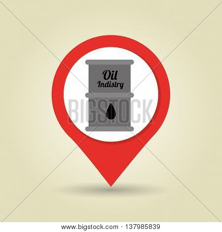 barrel of petroleum isolated icon design, vector illustration  graphic