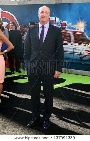 LOS ANGELES - JUL 9:  Matt Walsh at the Ghostbusters Premiere at the TCL Chinese Theater IMAX on July 9, 2016 in Los Angeles, CA