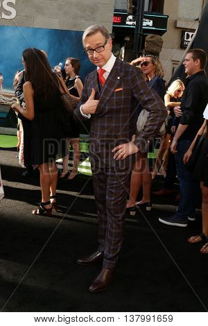 LOS ANGELES - JUL 9:  Paul Feig at the Ghostbusters Premiere at the TCL Chinese Theater IMAX on July 9, 2016 in Los Angeles, CA