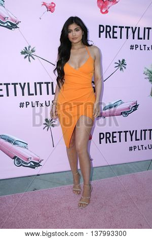 LOS ANGELES - JUL 7:  Kylie Jenner at the Pretty Little Thing Launch at the Private Residence on July 7, 2016 in Los Angeles, CA