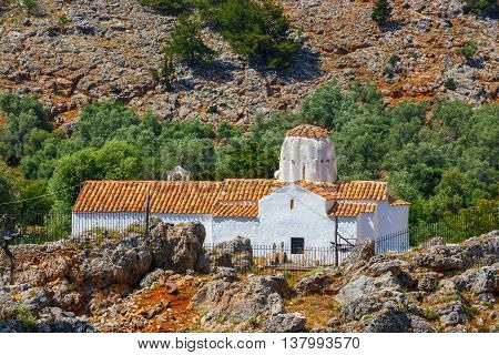 Church of Archangel Michael over Aradena George in Aradena Crete