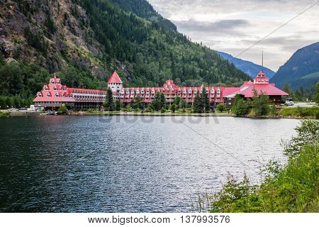 Three Valley Canada - July 2 2016. Three Valley Gap Chateau