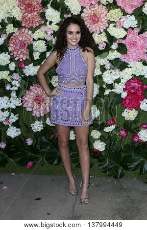 LOS ANGELES - JUL 7:  Madison Pettis at the Pretty Little Thing Launch at the Private Residence on July 7, 2016 in Los Angeles, CA