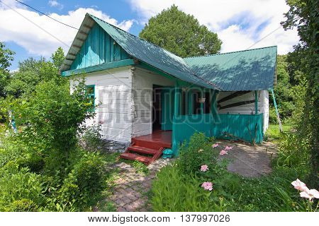 Sochi ,Russia - June 26, 2014, House-Museum in Koshman Solokh-village of Krasnodar Territory