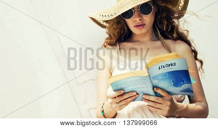 Book Living Reading Life Live Solitude Tranquil Concept