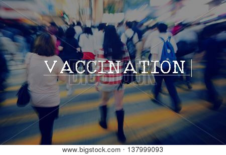 Vaccination Disease Fever Flu Health Illness Concept