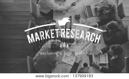 Market Research Analysis Consumer Strategy Concept