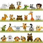 stock photo of alligator  - cartoon animals  - JPG