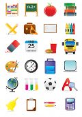 picture of paint brush  - Collection of education and school icons - JPG