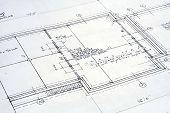 Architectural Blueprint poster