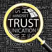 stock photo of trust  - TRUST - JPG